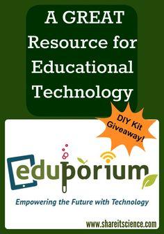 Win a DIY Electro Dough Kit and $50 store credit at Eduporium! Giveaway runs 12-1-16 through 12-7-16