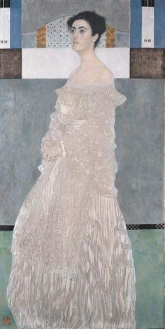 Gustav Klimt - Bildnis der Margaret Stonborough-Wittgenstein (1905)