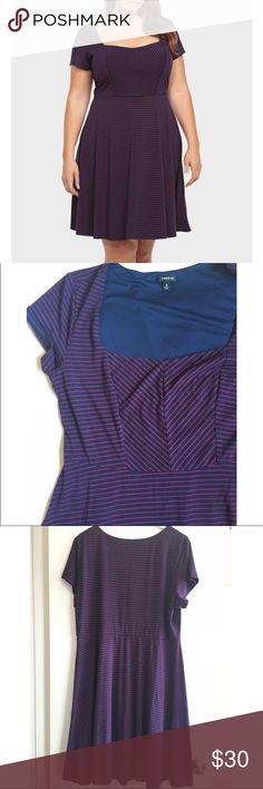 Torrid striped skater dress ✨ Host pick ✨ Super cute and easy to wear striped skater dress. torrid Dresses