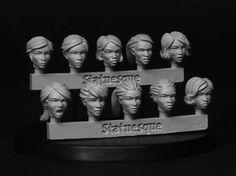 SMA301 Heroic Scale Female Heads statuesqueminiatures.shop033.com