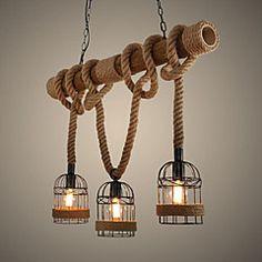 40W Lampe suspendue ,  Traditionnel/Classique / Vintage / Rétro / Rustique…