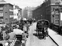 Southwark Bridge, London c 1890