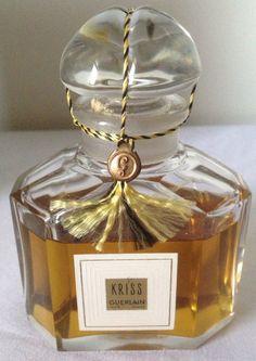 Super Rare 1942 Kriss Guerlain Perfume Unopened Original BOX Cant BUY Anywhere | eBay