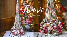 Diy And Crafts, Christmas Crafts, Christmas Decorations, Table Decorations, Holiday Decor, Christmas Minis, Christmas 2019, Christmas Bulbs, Candle Lanterns