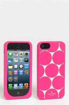 kate spade new york deborah dot iPhone 5 case available at #Nordstrom