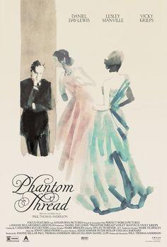 """Poster for """"Phantom Thread"""""""
