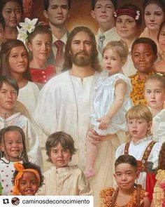 Pictures Of Christ, Jesus Christ Images, Jesus Art, Religious Pictures, Jesus Pics, Religious Sayings, Jesus Our Savior, Lord And Savior, Bless The Child