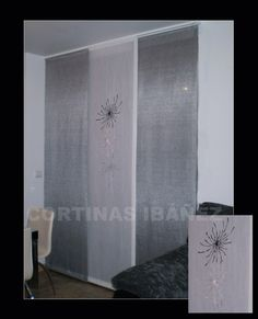 Cortinas para sala on pinterest tejidos modern curtains for Visillos para comedor