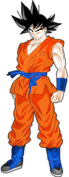 My Goku Fukkatsu no f/Dragonball Super Render by TheArcosian on @DeviantArt