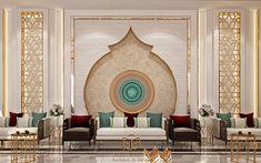 Set Design, House Design, Arabic Decor, Wall Panel Design, Backyard Playground, Living Room Modern, Moroccan, Islam, Cool Designs