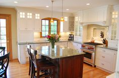Showpiece Kitchen - traditional - kitchen - chicago - by Normandy Remodeling