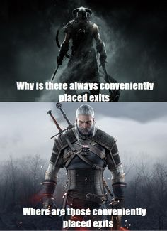 Skyrim caves vs Witcher caves - Imgur
