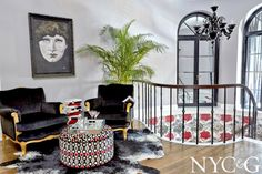 Home Is Where the Heart Is Designer Showhouse; #NYC&G; Entry Foyer by Kim E. Courtney Interiors