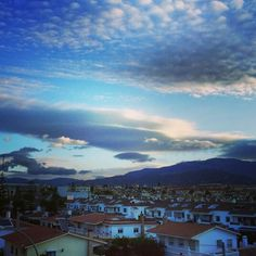 #clouds in the #sky #Axarquía #morning