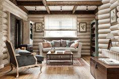 (+1) Красивые интерьеры деревянных домов : Интерьер : Дом : Subscribe.Ru