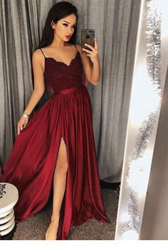 V Neck Prom Dress, Prom Dress Ball Gown, Lace Prom Dress, Bridesmaid Dresses Prom Dress V-neck Bridesmaid Dresses 2018 Outlet Feminine 2019 Bridesmaid Dresses Spaghetti Strap Prom Dresses Long Lace V Neck Maxi High Split Evening Ball Gowns 2019 Split Prom Dresses, Straps Prom Dresses, V Neck Prom Dresses, Prom Dresses 2018, Lace Bridesmaid Dresses, Dress Prom, Long Dresses, Dresses Dresses, Dresses Online