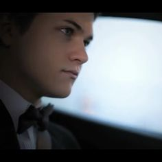 A man in a suit!! Mmmmm Everyone watch the video and go vote for Hunter!!