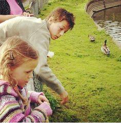 Louis with Lottie