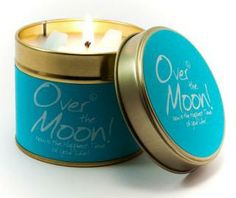 Over The Moon - this candle will truly boost you upwards with its' fresh but spicy fragrance!