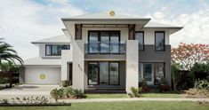 Queensland's most desirable homes from our Plantation Collection, exceptional living crafted for Queensland. Start your discovery today. Double Story House, Facade House, House Exteriors, Big Windows, New Home Designs, Modern House Design, My Dream Home, Queenslander, Target