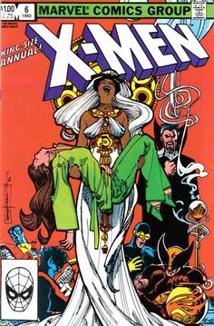Browse the Marvel Comics issue X-Men Annual Learn where to read it, and check out the comic's cover art, variants, writers, & more! Univers Marvel, Marvel Comic Books, Comic Books Art, Book Art, La Pieta, A Comics, Horror Comics, Marvel Now, Hobgoblin