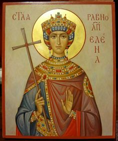 Icon of Saint Nina Byzantine Icons, Byzantine Art, Religious Icons, Religious Art, Saint Victoria, Church Icon, Constantine The Great, Roman Church, Best Icons