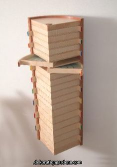 is artistic inspiration for us. Get extra photograp… - Schmuck ideen - Cool studio jewelry storage! is artistic inspiration for us. Get extra photograp Cool studio jewel - Tool Storage, Craft Storage, Storage Ideas, Attic Storage, Storage Drawers, Woodworking Plans, Woodworking Projects, Woodworking Patterns, Woodworking Furniture