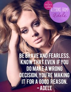 LOVE Adele and this new series! Lessons From: Adele // via Inspired by Charm