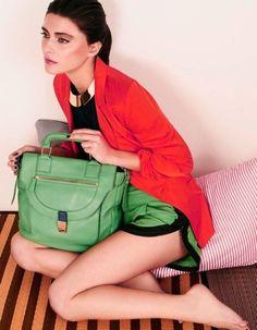 Great handbag...perfect size.
