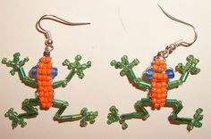 'Frog Earrings Custom just for you :)' is going up for auction at  9am Sun, Jul 29 with a starting bid of $6.
