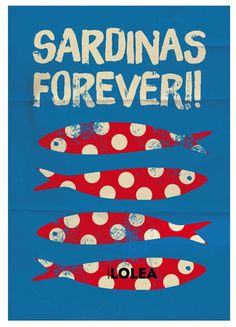 Creative Lolea, Sardinas, Perfect, Summer, and 14 image ideas & inspiration on Designspiration Easy Arts And Crafts, Art Graphique, Fish Art, Graphic Design Inspiration, Oeuvre D'art, Graphic Illustration, Illustrations Posters, Art Paintings, Artsy