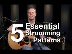 5 Essential Strumming Patterns - Beginner Guitar Lessons - YouTube