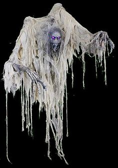 Halloween decorations : IDEAS & INSPIRATIONS GHASTLY SPECTRE ZOMBIETTE