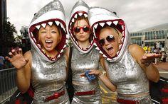 DIY Shark Costume - maskerix.com