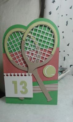 Tennis birthday card happy birthday pinterest tennis a bar mitzvah card for a tennis player m4hsunfo Choice Image