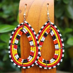 maasai Dazzling Earrings - African Jewelry - Africa Imports