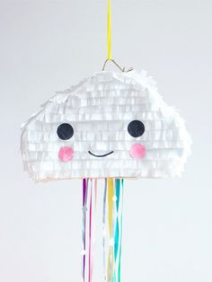 cutes cloud rainbow piñata