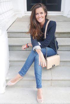 More women should wear blue instead of black.