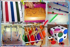 Motricidad fina manualidades Collage - Imagenes Educativas