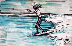 BY ANDO #ando #surf #art