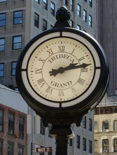 The red brick to the left - that is us! Our GRAND neighbor's iconic clock Tribeca - NYC Nyc Girl, City Girl, A New York Minute, Empire State Of Mind, I Love Nyc, Ny Ny, My Kind Of Town, City That Never Sleeps, Dream City