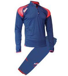 Kék-Piros Zeus Felix Háromnegyedes Edzőruha Szett felső része mellkasig cipzáros, egyenes álló rövid galléros, vállszín hálós. Karcsúsított, rugalmas vonalvezetésű, ujjai végén lyuk biztosítja a kézfej védelmét, nadrágja 3/4 -es testhezálló. Kényelmes, nehezen tépődik, kopásálló, könnyen szárad, rugalmas a Felix edzőruha szett. Kék-Piros Zeus Felix Háromnegyedes Edzőruha Szett 3 méretben, és további 5 színkombinációban érhető el.