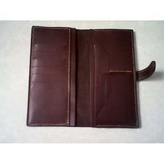 Pattern template long wallet leather by LeatherPatternCraft