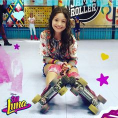 Luna patinado en el JAM AND ROLLER