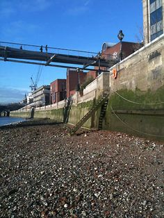 The Thames Foreshore at low tide -- been there!