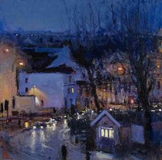 Andrew Gifford:  Looking west from the studio II