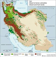 Maps on Iran by Irancarto