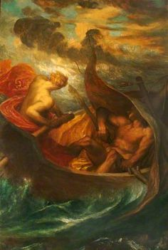 Love Steering the Boat of Humanity - George Frederic Watts (1899-1901)