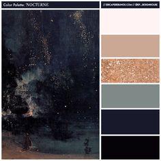 Color Palette // Nocturne — EP Designhouse