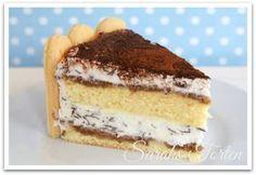 Sarahs Torten und Cupcakes: {Tchibo Blogparade}: Heute gibt es Tiramisu Torte zum Kaffeeklatsch